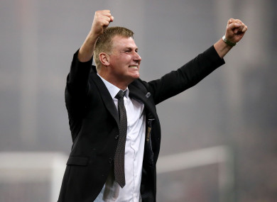 Kenny has had unrivalled success over the past 15 years.