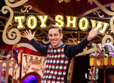The theme of this year's Late Late Toy Show is The Greatest Showman.