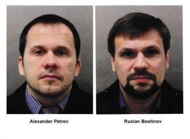 'Alexander Petrov' and 'Ruslan Boshirov'