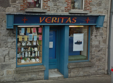 The Veritas store in Sligo is set to be closed by the end of January.