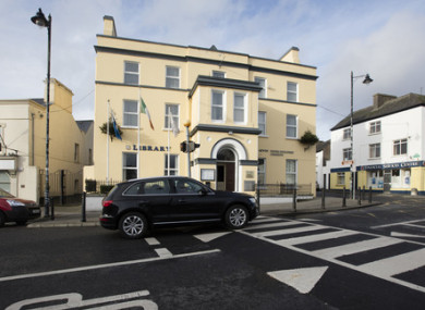 The reception centre in Ballaghaderreen
