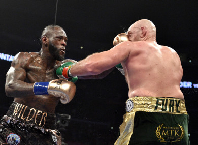 Nothing could separate Wilder and Fury as the pair featured in a controversial draw last night.