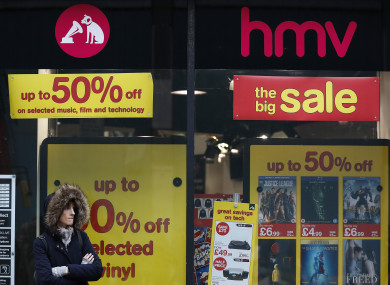 Hmv Calls In Administrators In Uk For Second Time In Six Years