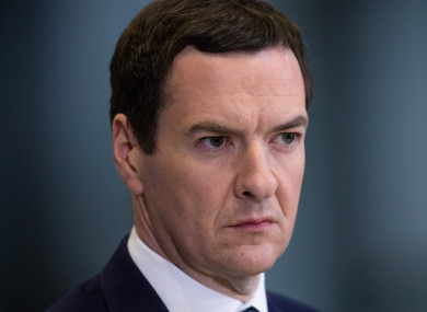 George Osborne said that a public referendum on Brexit should never have taken place.