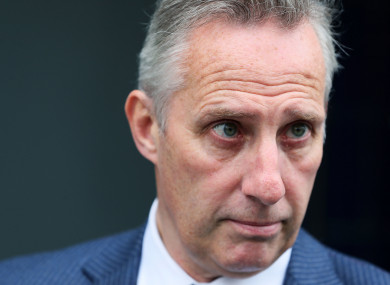 North Antrim MP Ian Paisley, who is facing fresh calls to quit.