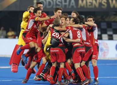Belgium: Red Lions won the World Cup for the first time.