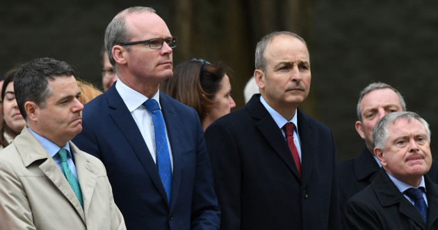 Fine Gael will seek Labour and Greens support as future government partners, as Leo fails to rule out 2019 election