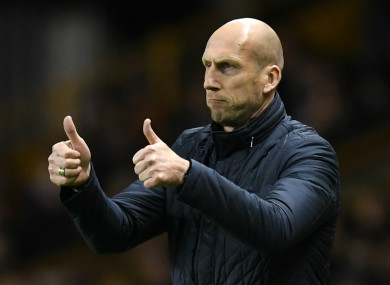 Former Reading boss Jaap Stam is now in charge at PEC Zwolle.