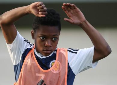Karamoko Dembele (file pic).