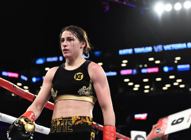 Eddie Hearn and Brian Peters are eyeing four huge showdowns for Katie Taylor next year.