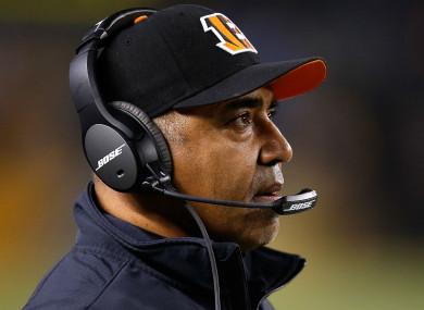 Marvin Lewis has left the Cincinnati Bengals.