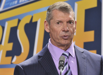 WWE founder and chairman Vince McMahon announced in January the XFL would be making a comeback.