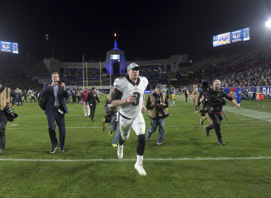 Foles: led the Eagles to a 30-23 victory over the LA Rams last week.