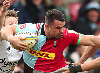 Dave Ward of Harlequins (file pic).
