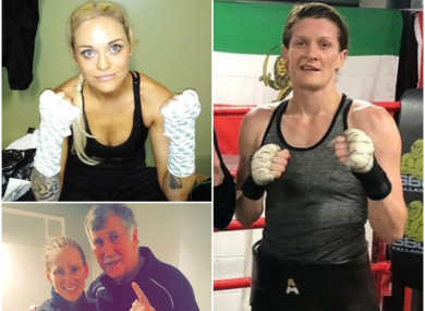 Going into the new year, there are currently an all-time high five Irish women fighting in boxing's professional ranks.