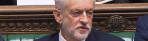 Jeremy Corbyn denies he muttered 'stupid woman' at Theresa May
