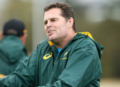 South Africa boss Rassie Erasmus.