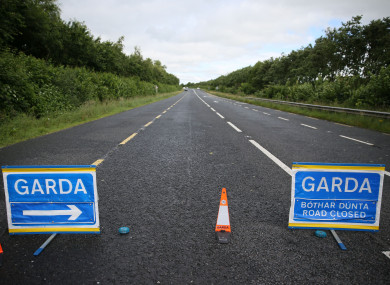 The incident occurred on the Oldbridge to Donore road, 4km outside Drogheda