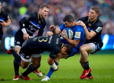 Bath: beat Leinster physically last weekend, O'Sullivan says.
