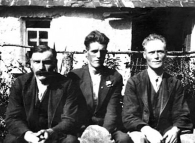Frank 'Scout' Butler (on the right) was the Tipperary goalkeeper on Bloody Sunday, and was spared being shot when the British forces saw his WWI service tattoo.