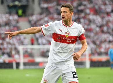 Stuggart midfielder Christian Gentner.