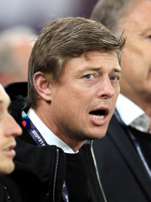 Denmark's assistant manager Jon Dahl Tomasson (file pic).