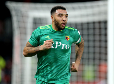 Deeney scored in the 3-3 draw with Bournemouth.