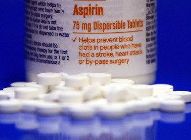 Study says healthy adults shouldn't take aspirin daily due