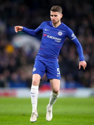 Chelsea's Jorginho (file pic).