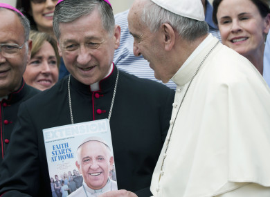 Pope Francis with Chicago Archbishop Blase Joseph Cupich in September 2015.