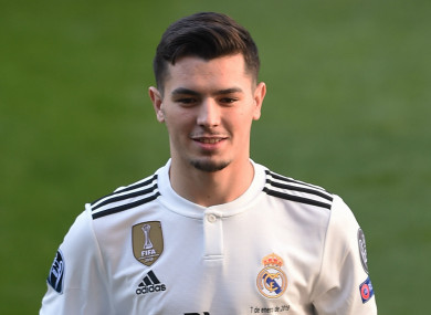 Real Madrid's Brahim Diaz.