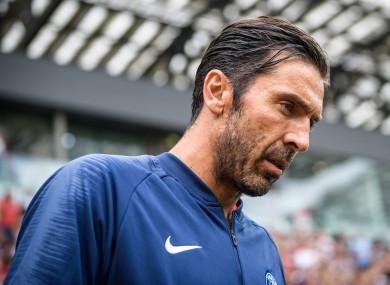 Gigi Buffon (file pic).