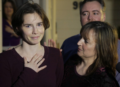 Amanda Knox, pictured in Seattle in 2015.