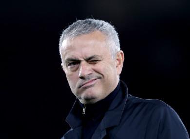 Jose Mourinho (file pic).