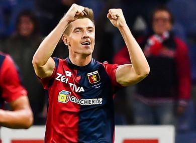 Krzysztof Piatek has joined AC Milan.