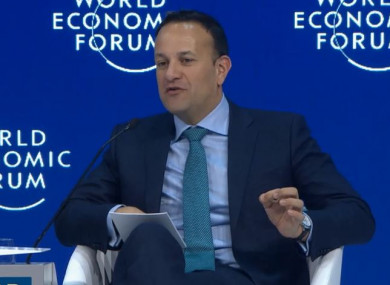 Varadkar was part a panel discussion called of The New Impetus for Europe.