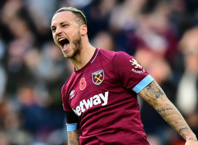 Arnautovic is staying put in London.