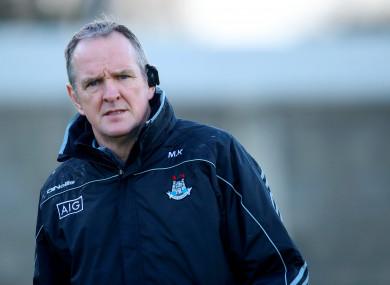 New Dublin hurling boss Mattie Kenny.