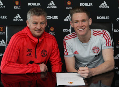 McTominay has agreed terms until 2023.