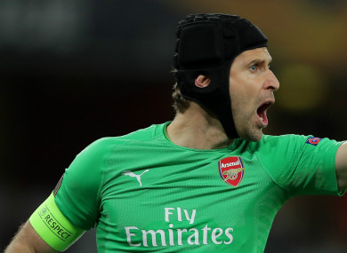 Petr Cech is set to end a 20-year career.