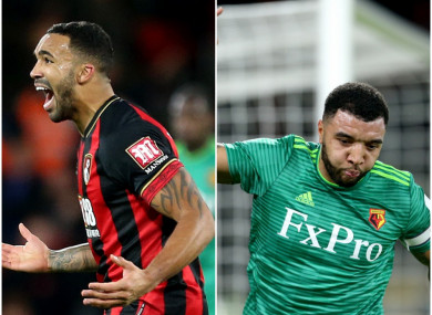 Callum Wilson and Troy Deeney both hit the net in the first half.