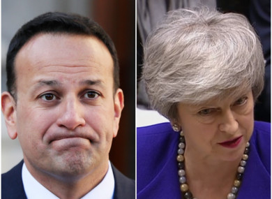 1aa103d6c Taoiseach tells Theresa May over the phone   The latest developments ...