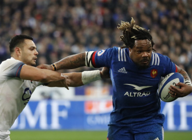 Mathieu Bastareaud has been left out in the cold for the first round of the Six Nations.