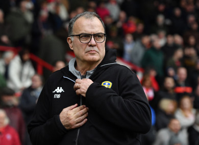 Marcelo Bielsa finds himself at the heart of controversy.