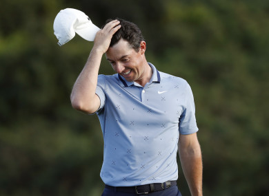 Rory McIlroy at the Tournament Of Champions.