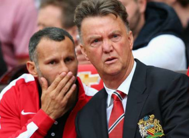 Ryan Giggs worked as Louis van Gaal's assistant for a period.