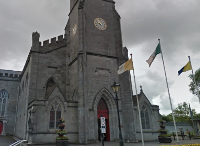 The cathedral in Ennis.