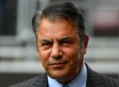 Cardiff City chairman Mehmet Dalman.
