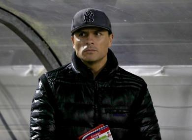 The Munster Heineken Cup winner was in the dugout last week.