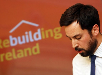 File photo of Minister Eoghan Murphy.
